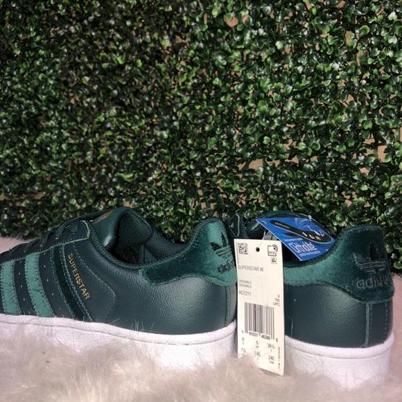 adidas green velvet sneakers